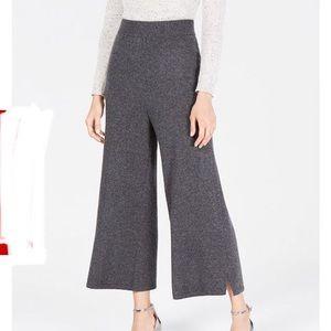 100% CASHMERE Culotte Pants